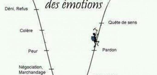 Echelle des emotions suite a un décès